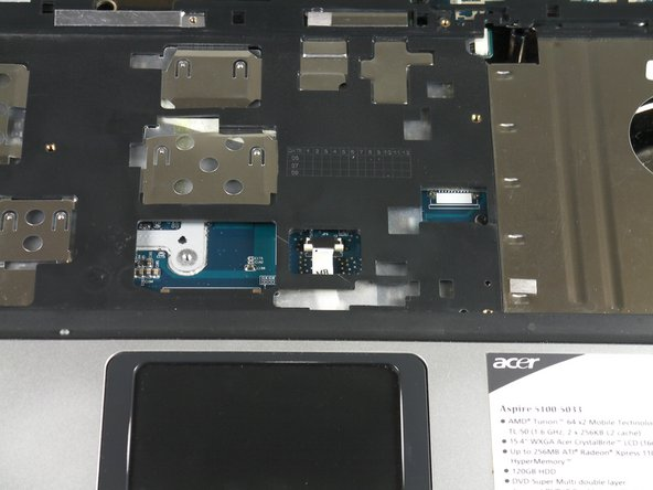 Acer Aspire 5100 Track Pad Replacement