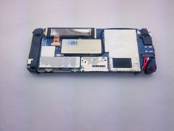 Once the cover is off, this is what your device will look like.