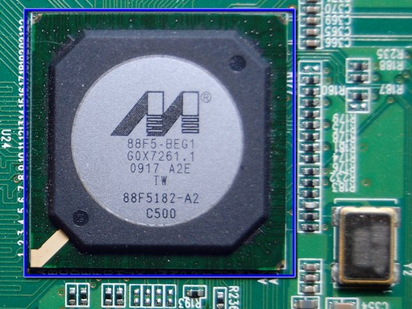 "Marvell 88F8152-A2 ""Feroceon(r)"" Storage Networking SoC (System-on-Chip)"