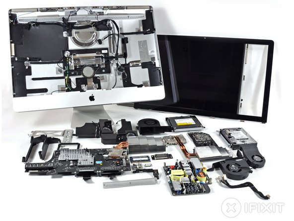 After such a tedious teardown, you can't blame us for just piling everything up into one ginormous heap of parts.