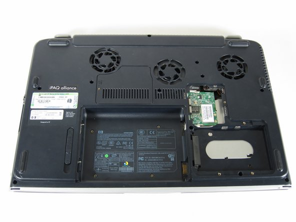 HP Pavilion zd8000 Top Cover Replacement
