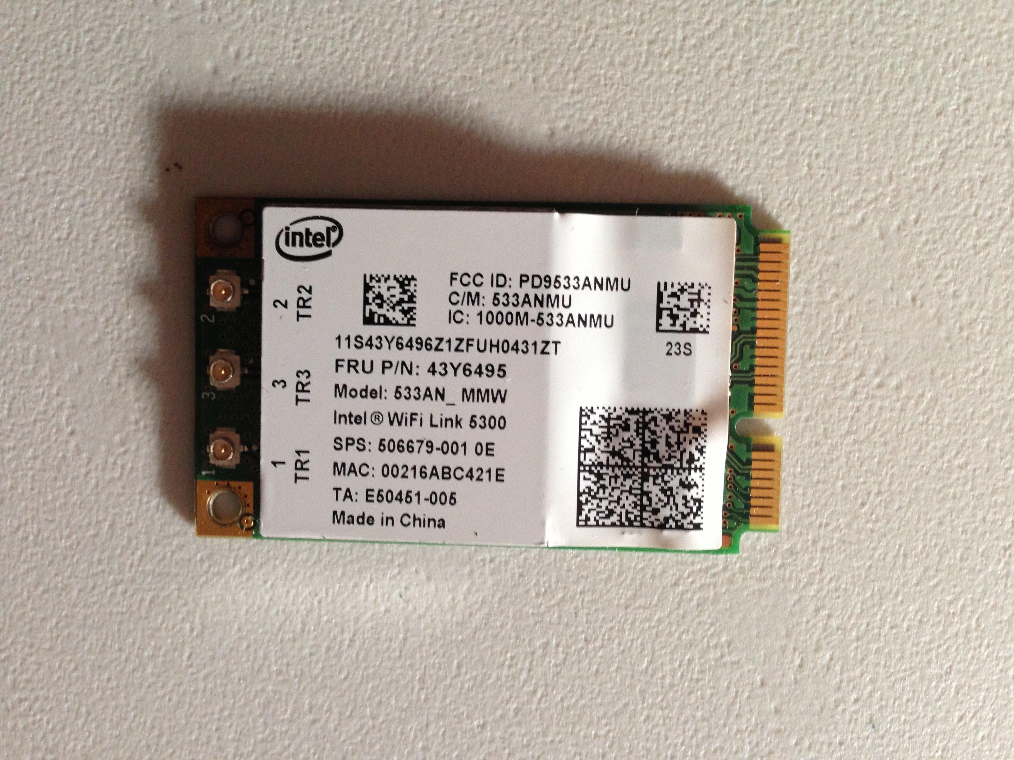Removing the HP Elitebook 6930p WLAN Module - iFixit Repair
