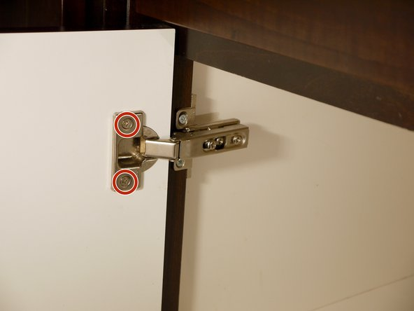 How to Replace Concealed Cabinet Hinges iFixit Repair Guide