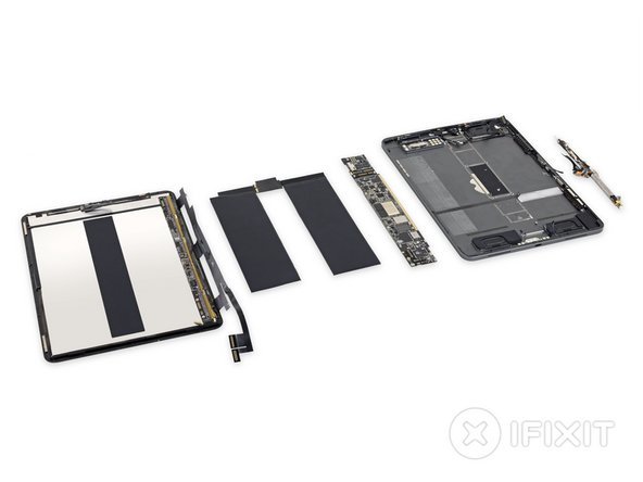This iPad Pro is no mo'—we've broken it down to its constituent parts!