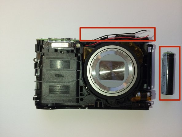 Image 1/1: Connect the wires to new battery and put the battery back in terminal.