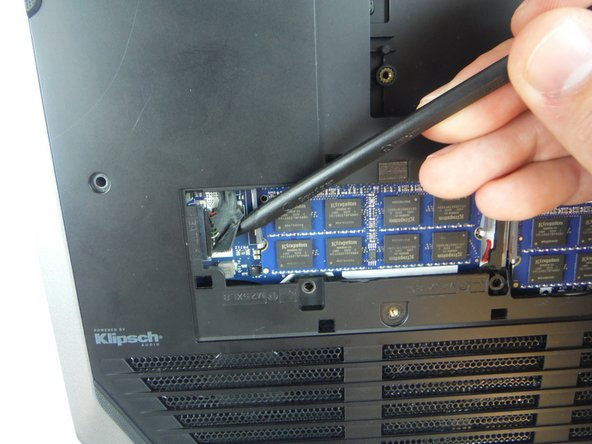 Disconnect the battery cable from the battery cable terminal.