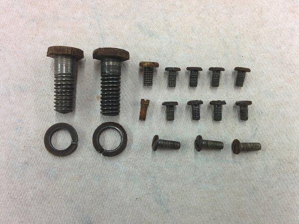 """1x machine screw, #4-48, 1/4"""", miniature head (1/8"""" dia)"""