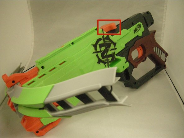 The cocking device air to be built up inside the Nerf crossbow, which generates the force needed to propel the darts.