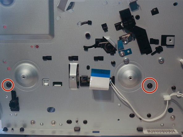 Remove 2 screws from the left side of the chassis.