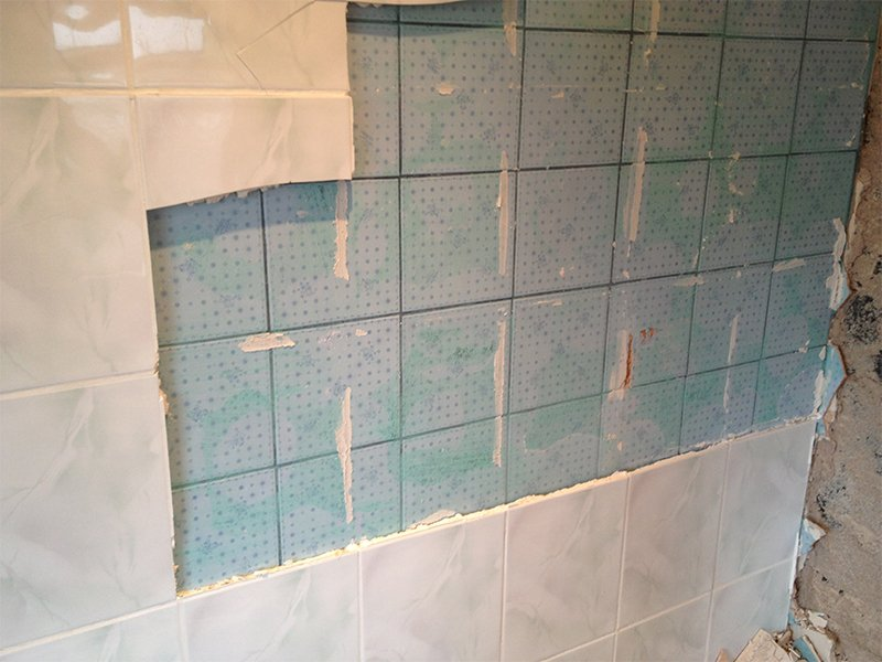 FAQ Can I Tile Over Existing TIles IFixit - Best thinset for large porcelain tile