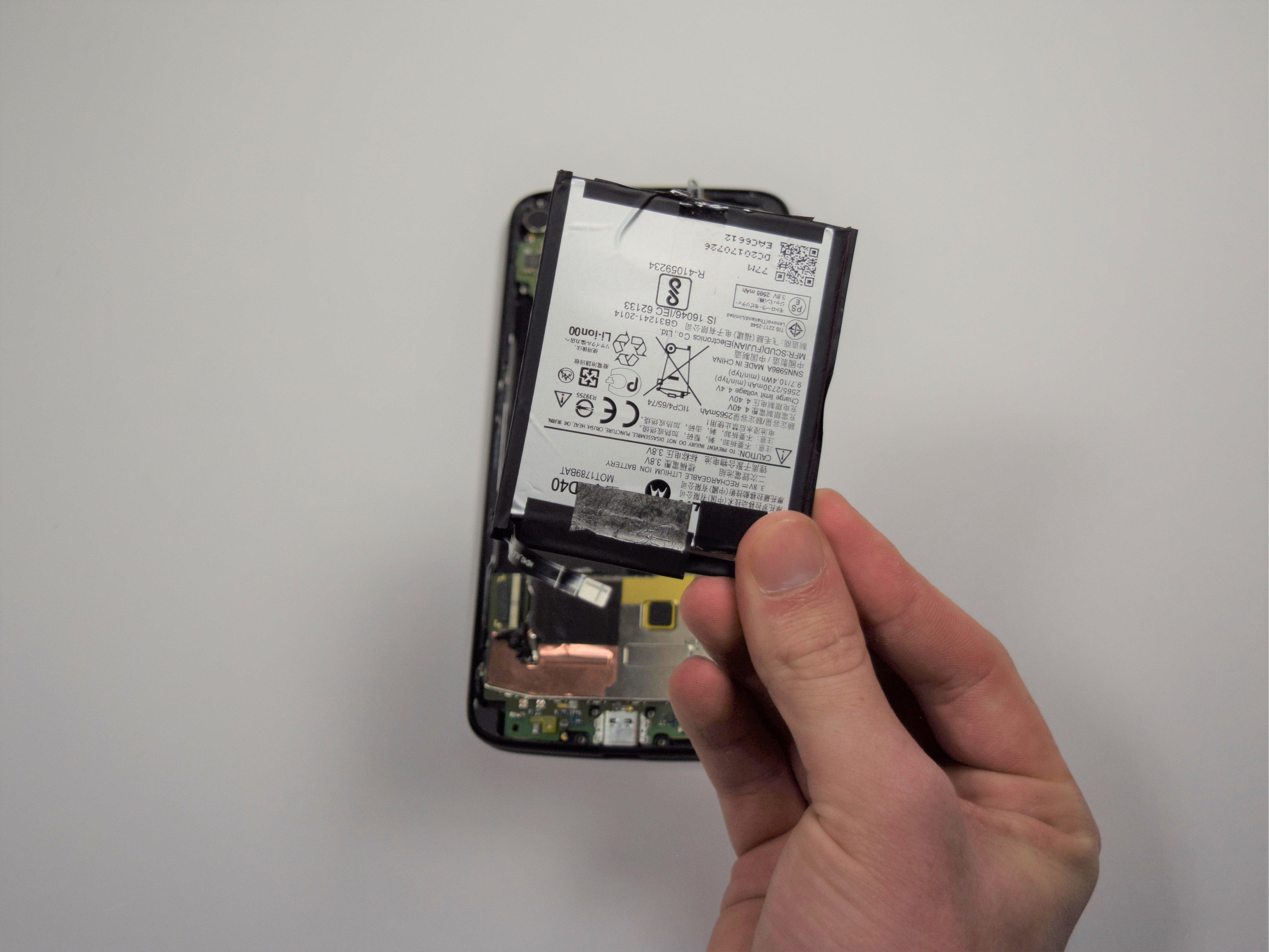 Motorola Moto Z2 Force Battery Replacement - iFixit Repair Guide