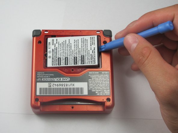 Nintendo Game Boy Advance SP Battery Replacement