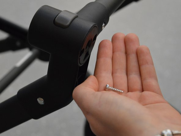 Make sure not to lose the screws, since you need them for the reassembly later.
