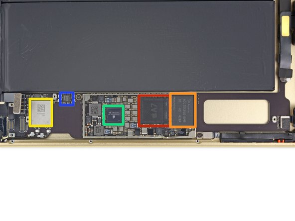 Image 1/1: Apple A7 APL0698 SoC