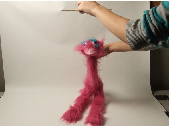 This is what your puppet should look like.