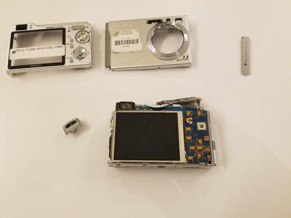 Sony Cybershot DSC-W80 Front/Back Panels Replacement