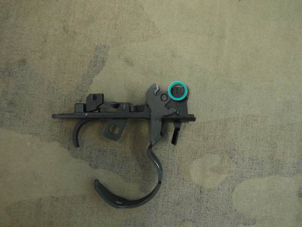 Once the upper receiver is flush with the body you can start adding the trigger grouping.