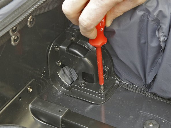 When attaching the new wheels, take care not to over tighten the screws.