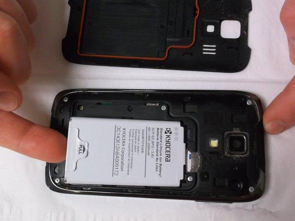 Remove battery.