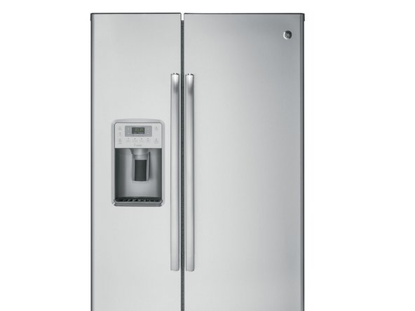 Ge Profile Fridge Freezing food