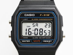 Casio Digital Watch Teardown