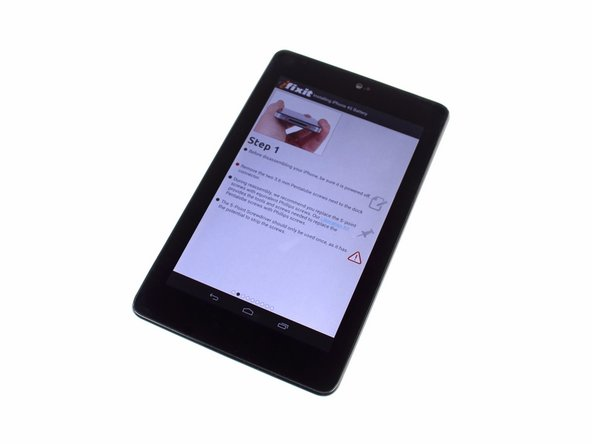 Image 1/3: Alas, this Nexus 7 is from [http://www.eweek.com/c/a/Security/Google-the-Ultimate-Private-Intelligence-Agency-Is-Raising-EUs-Ire-665978/|the other intelligence agency]: Google. Even though it's not a secret Pentagon initiative, it does feel pretty stealthy and versatile for $200.