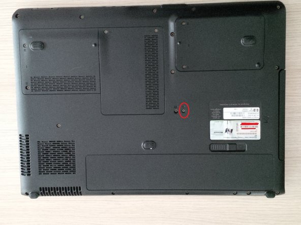 now we will remove the dvd rw drive.