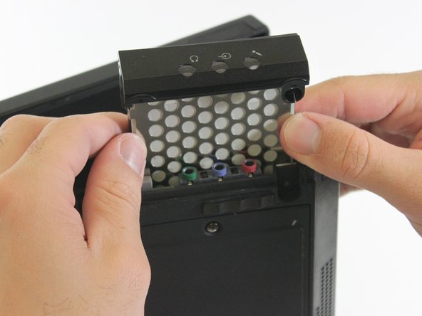 Once you have detached the hard drive from the Thinkpad, slide the hard drive out of the device.