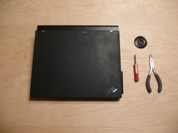 How to Perform an IBM ThinkPad X60s Fan Spindle Replacement