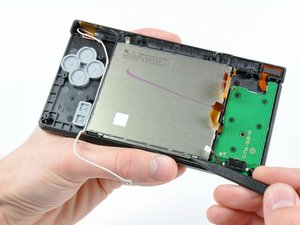 Lower LCD Assembly