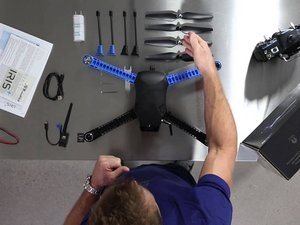 How to Assemble the 3DRobotics Iris+
