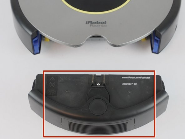iRobot Roomba 630 Bin and Filter Cleaning and Replacement