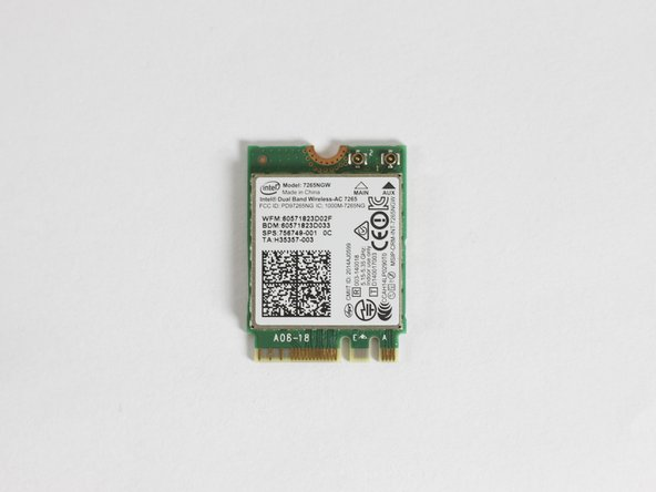Acer Aspire R7-371T-72CF Wifi Chip Replacement