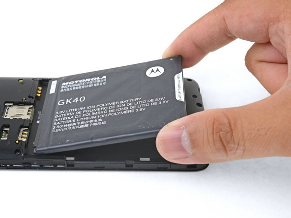 Sostituzione batteria Motorola Moto G5