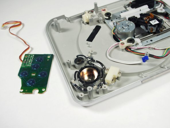 Coby DVD209 Circuit Board for Buttons Replacement