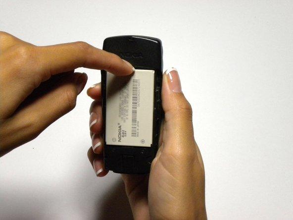 Remplacement d cela batterie du Nokia 6590i