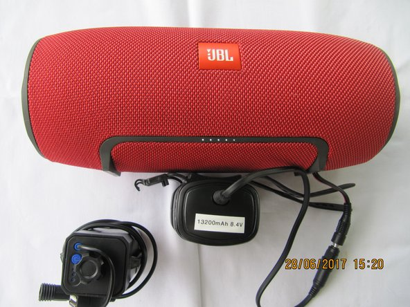8.4 V battery pack for the JBL Extreme.