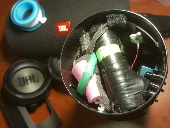 I put a few pink foam to make sure no rattle of wires, secured everything and heats isolation (if any :))