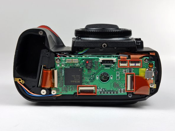 Nikon D70 Memory Compression Board Replacement
