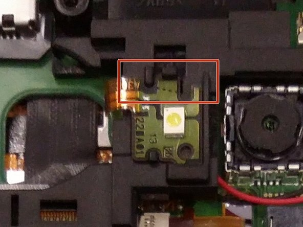 You may find it easier to loosen the top portion of the Flash Chip first.