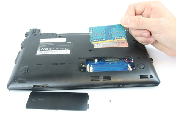 Samsung NP-N102S-B05PH RAM Replacement