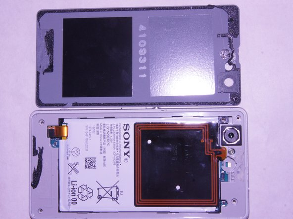Sony Xperia Z1 Compact Back Cover Replacement