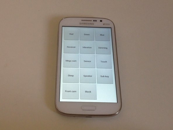 Hidden Test Menu - lets you troubleshoot hardware issues and check your phone's functionality.