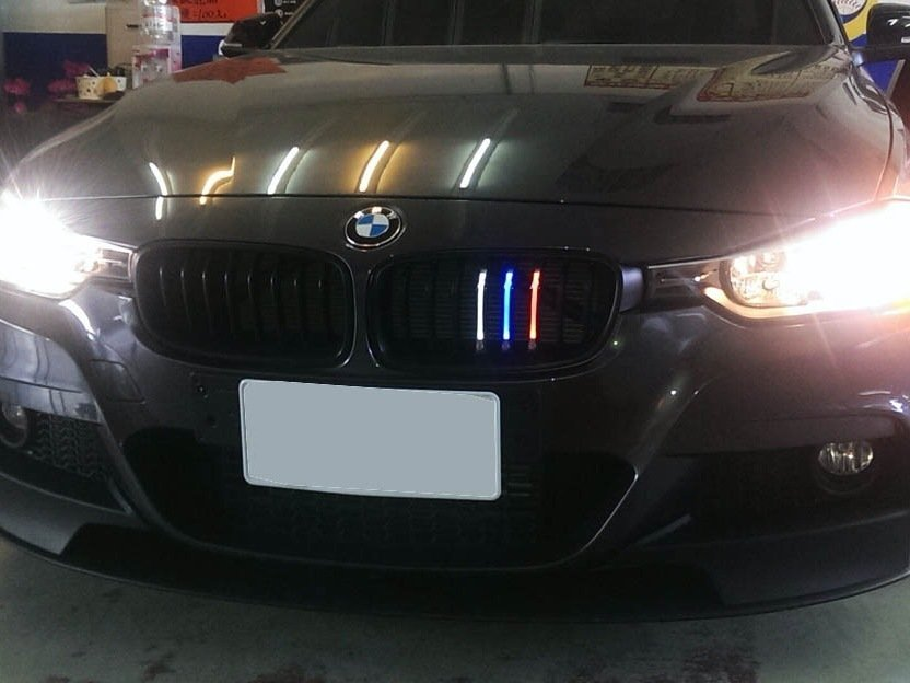 Bmw M Colored Led Front Kidney Grille Installation