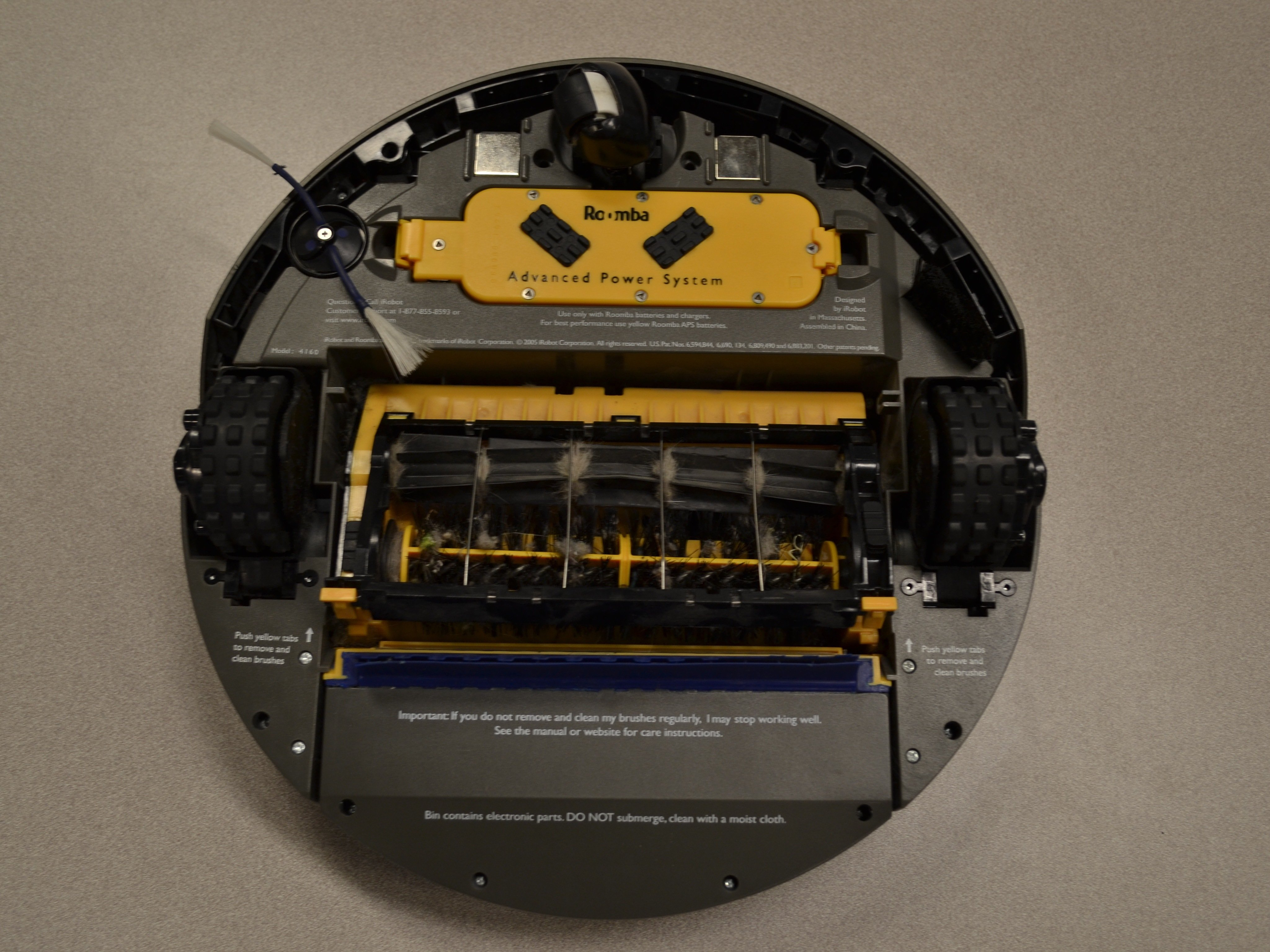 iRobot Roomba 4160 Battery Replacement - iFixit Repair Guide