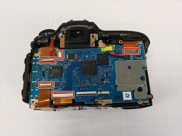 Nikon D7100 Motherboard Replacement