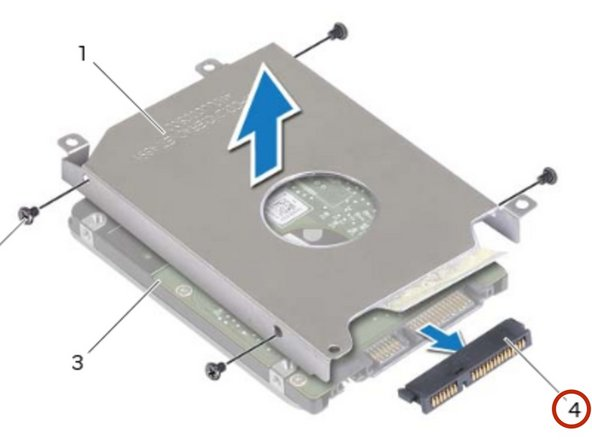 Connect the interposer to the hard-drive.
