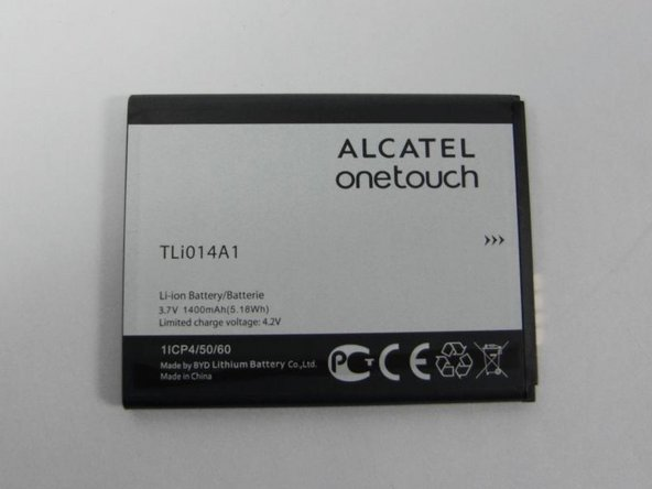 Alcatel OneTouch Evolve Battery Removal