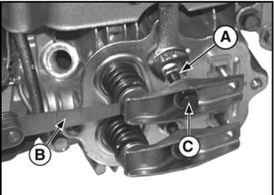 solved adjusting valves on a 17 hp briggs stratton motor block image