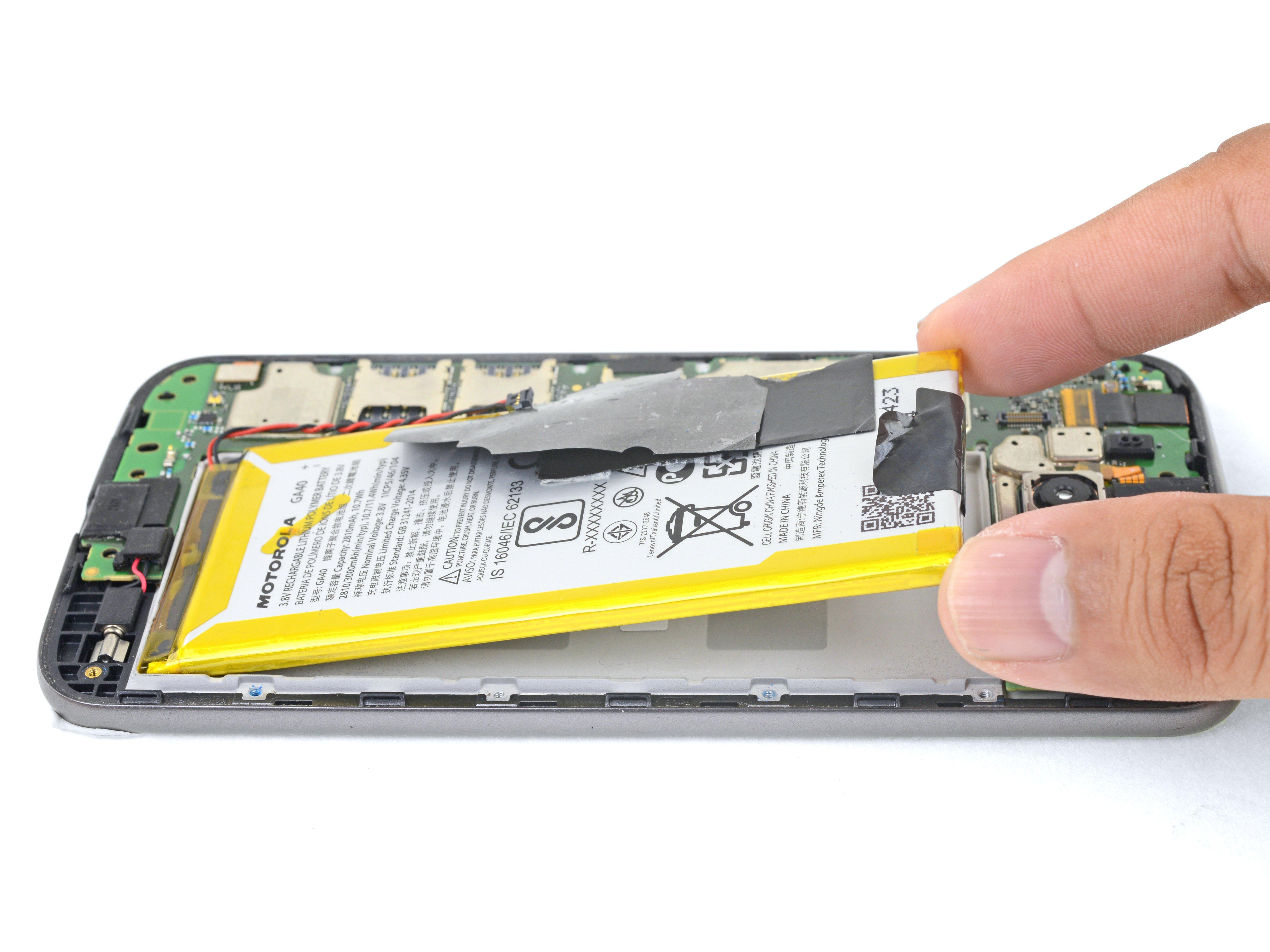 detailed look 70d87 62593 Motorola Moto G4 Plus Battery Replacement - iFixit Repair Guide